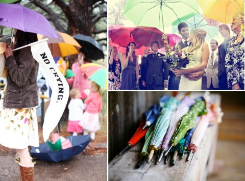1 paraguas invitados