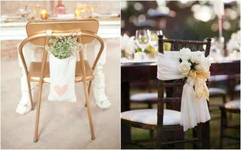 decorar sillas boda ideas deco chair wedding