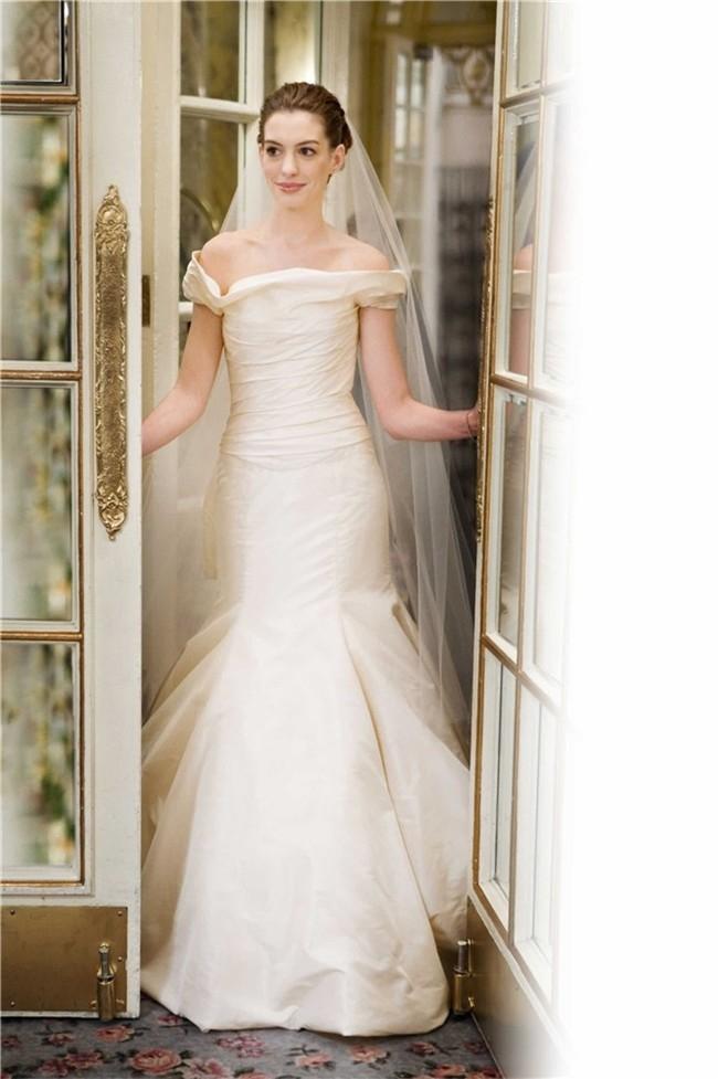 Blair waldorf blue wedding dress