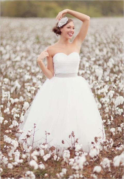 novia algodon