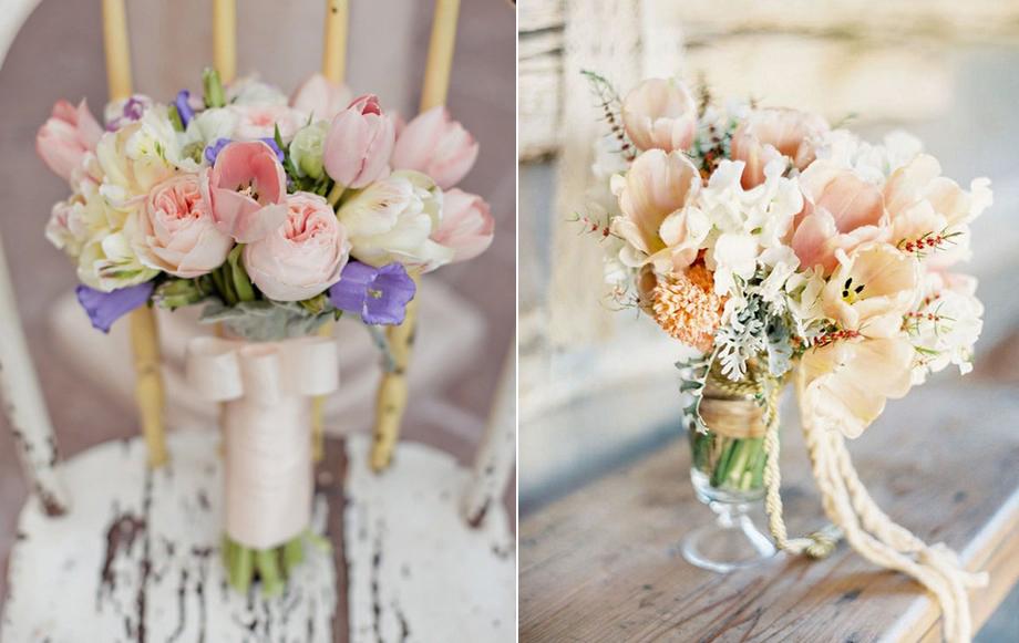 Flores El Elemento Ideal Para Tu Pastel De Bodas: Flores De Boda