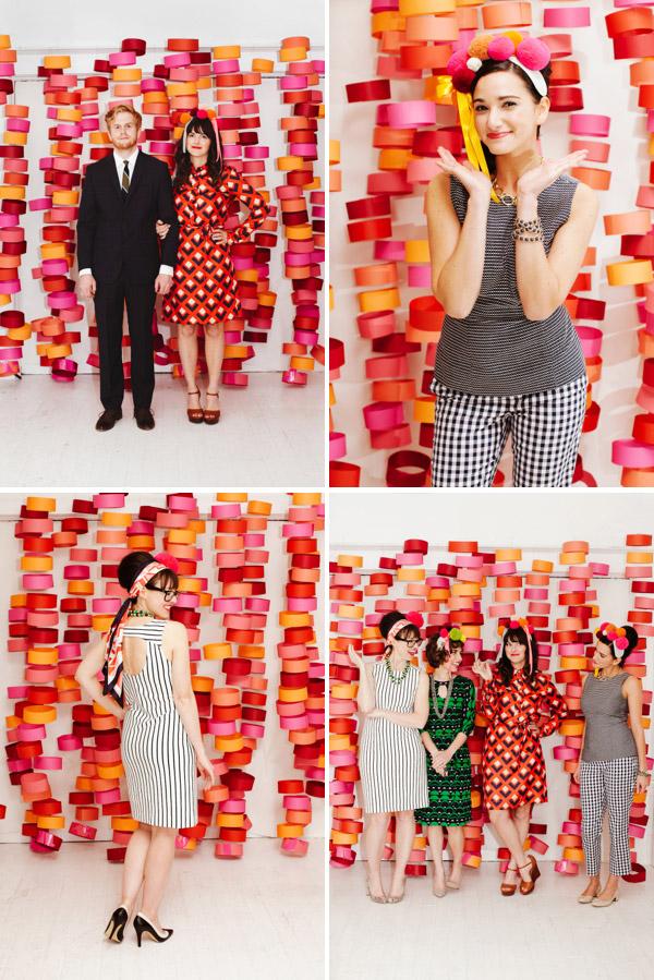 DIY: fondo colorido para photobooth