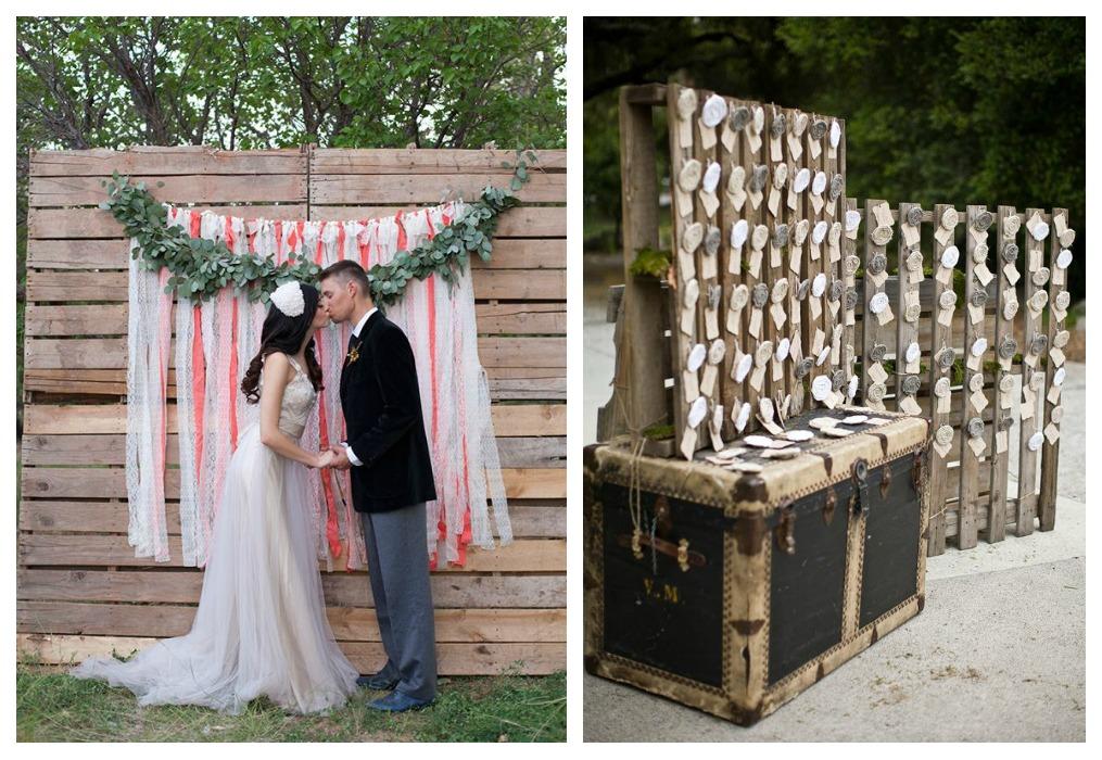 Decora tu boda con palets pyp - Cosas que preparar para una boda ...