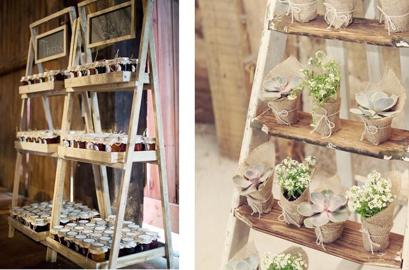 Escaleras vintage en tu boda pyp - Escaleras de decoracion ...